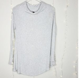 We The Free | Mock Neck Ribbed Long Sleeve Top